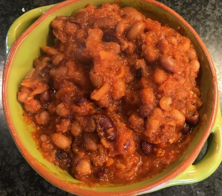 Healthy Beans in Tomato Sauce recipe