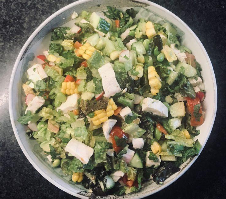Chopped Chicken Salad Recipe