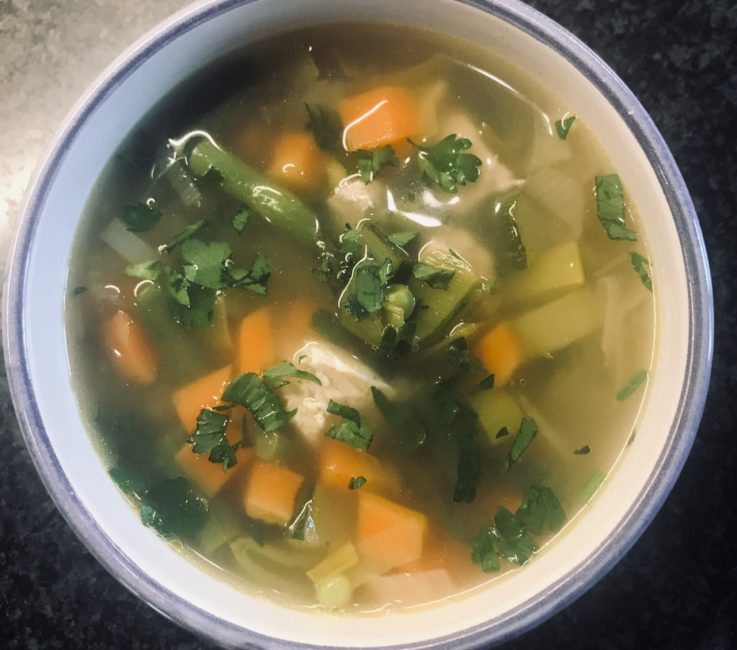 Spring Chicken Soup recipe