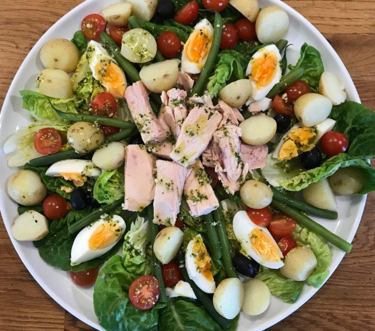 Tuna Salad or Salad Nicoise recipe