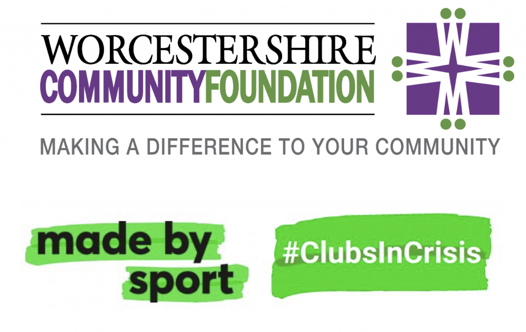 Worcestershire Community Foundation. Made By Sport.